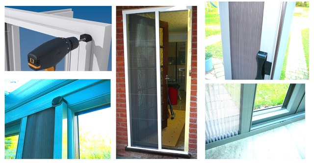Single Folding Door | Flyscreen Queen