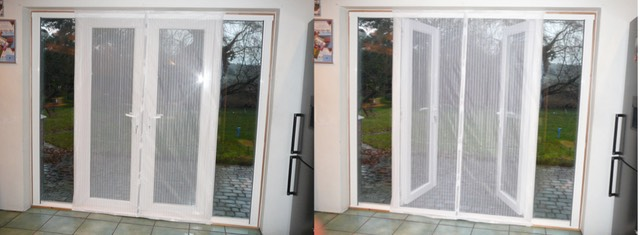 Flyscreen magnetic patio for Fly curtains for french doors