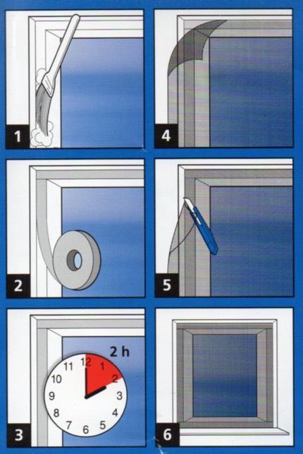 Simple Window Kits Flyscreen Queen