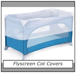 Flyscreen Cot Covers