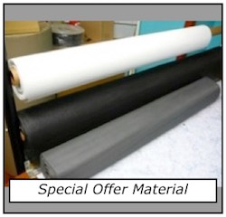Flyscreen material special offer
