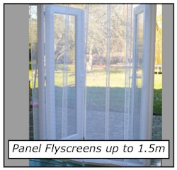 Flyscreen panel 1.5m