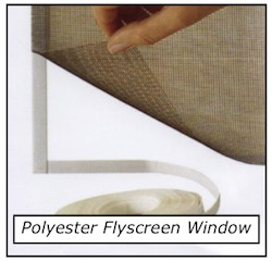 Flyscreen Polyester Window
