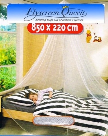 flyscreen single mosquito bed net