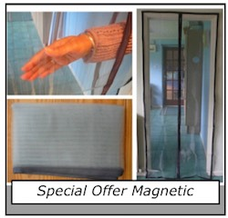 magnetic flyscreen special offer