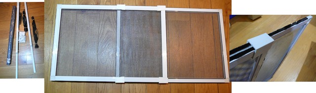 how to make fly screens for sash windows