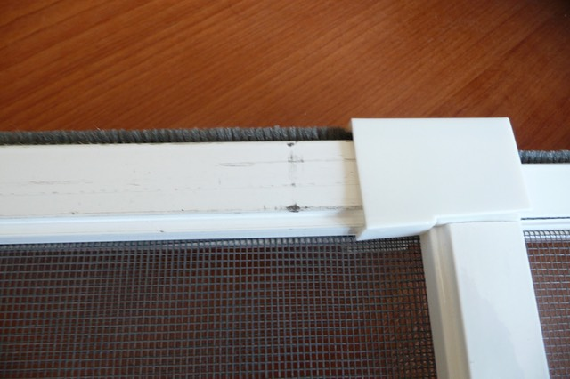 sash flyscreen profile damage